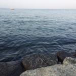 琵琶湖で読書2